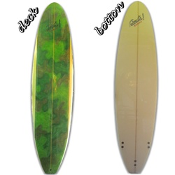 "Funboard Go Nuts 7'6"" shaped by Saulo Moraes"