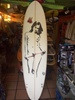 "7'2'' C4 ""smoking hot"" FunBoard FCS trustle"
