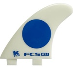 FCS K-2.1 GLASS-FLEX TRI FIN SET