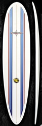 "7'11""  South Point Dowing Mini-Hune - 7'7 NSP fiberglass funboard"